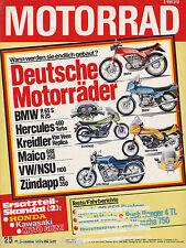 Motorrad 25 79 Ducati 350 Vento Kreidler GS 50 Puch Ranger GTL Yamaha TZ750 1979