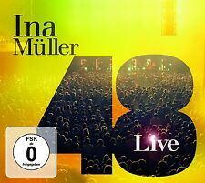 INA Müller - 48-Live 2 CD + DVD NUOVO
