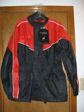 Men's Thunder Under Red & Black Motorcycle Rain Gear Reflective Piping New XS