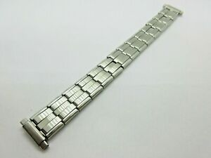Vintage Expanding Stainless Steel 13-18mm Watch Strap Spring Loaded  Fitting