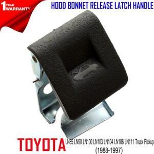 FOR Toyota Hilux 5gen LN85 Truck 88-97 Interior Hood Bonnet release Latch Handle
