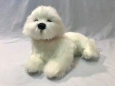 Bichon Frise Plush Stuffed Soft Toy 40cm/16in Annabelle by Bocchetta