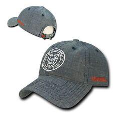 Cornell University Big Red NCAA Ivy League Cotton Polo Denim Baseball Cap Hat