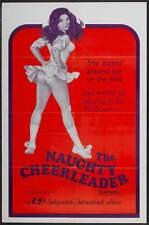 THE NAUGHTY CHEERLEADER Movie POSTER 27x40 Barbi Benton Jeff Cooper Broderick