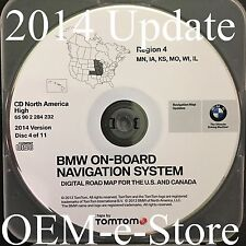 2000 to 2004 Range Rover Phaeton BMW Navigation CD Map Cover MN IA KS MO WI IL