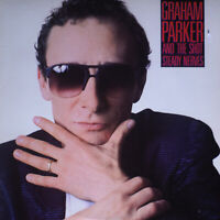 GRAHAM PARKER / And The Shot Steady Nerves PROMO white labels (NM/EX) [0412] LP