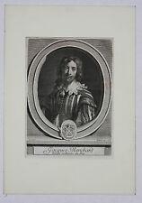 Portrait of Jacques Blanchard peintre ordibaire du Roy