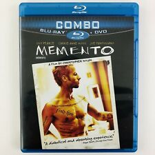 Memento (Blu-ray/Dvd Combo, 10th Anniversary Special Edition) Canadian Rare