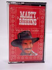 Marty Robbins Sings Romantic Faborites Cassette 1