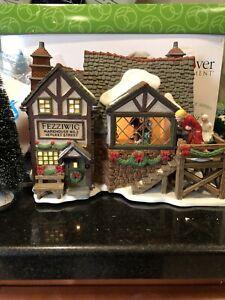 RARE** Fezziwig's Ballroom Dickens Christmas Carol Department 56