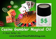 Casino Gambler Magical Good Luck Oil - Please Help Me Win Lottery / Casino Money
