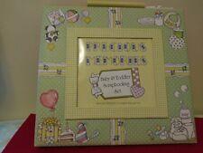 Baby & Toddler Scrapbooking Album Set with Photo Frame