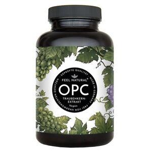 OPC Traubenkernextrakt - 240 Kapseln. Höchster OPC Gehalt nach HPLC - Premium: a