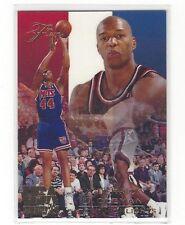 1994 FLAIR USA U.S.A. BASKETBALL DERRICK COLEMAN #10 - CAREER HIGHLIGHTS