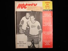 1965 PlayOff Edition Hockey Pictorial Magazine - Howe & Ullman Cover