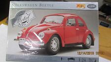 NEW, SEALED, Maisto Testors Volkswagen Beetle, 1:24, Pre-Painted Metal Model Kit
