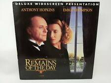 Remains of the Day (Laserdisc, 1994) Anthony Hopkins