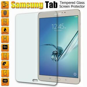 "HD 9H Premium TEMPERED GLASS Screen Protector For Samsung Galaxy Tablet 10.5""-7"""