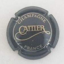 capsule champagne CATTIER n°1 noir et or