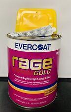 Evercoat New112 Rage Gold Premium Lightweight Body Filler Fib-112 Plus Spreaders