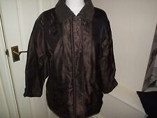 RIVER ISLAND,FUR COLLAR,QUILTED JACKET.generous SIZE 12