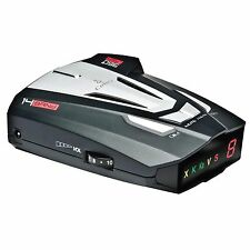 Cobra 14 Band 360° Camera Cop Laser Radar Detector w/ UltraBright Data XRS-9370