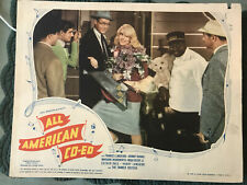 """All American Co-ed 1941 United Artists 11x14"""" comedy lobby card Johnny Downs"""