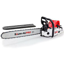 """NEW BAUMR-AG 92cc Petrol Commercial Chainsaw 24"""" Bar E-Start Chain Saw Pruning"""