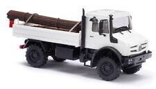 Busch H0, 51011 Mercedes Unimog U 5023 with Steel cargo, Vehicle Model 1:87
