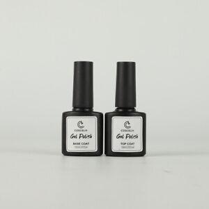 COSCELIA 10ml Top & Base for Gel Nail Polish - 0.33fl.oz