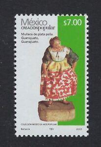 "FOLK ART 2005 ISSUE ""MUñECA DE PLATA PELLA  $7P SC#2499  CV$$ (cp01c)"