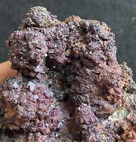 588.5g Gorgeous Cuprite Crystals On Copper From Bisbee Mine, Arizona