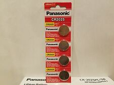**FRESHLY NEW** 4x Panasonic CR2025 Lithium Battery 3V Coin Cell Exp 2025