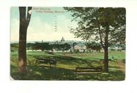 HOTEL DIEU FROM INCLINE RAILWAY, MONTREAL, QUEBEC, CANADA VINTAGE POSTCARD