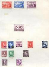 Pre-Decimal Lightly Hinged Australian Stamps