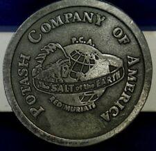 Potash Company Of America Diecast Belt Buckle By Hit Line USA.-911