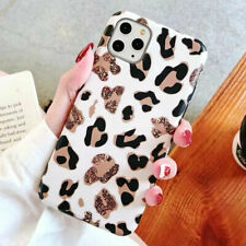 Case For iPhone 11 Pro XR 7 8 6s Plus SE Fashion Leopard Print Shockproof Cover