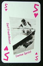 London 2012 Olympic Legend Game / Playing Card Matthew Pinsent Rowing #jc