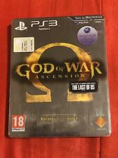 GOD OF WAR ASCENSION EDIZIONE SPECIALE SONY PS3 PAL ITALIANO COMPLETO
