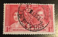 1937 Bechuanaland Protectorate 121 Used