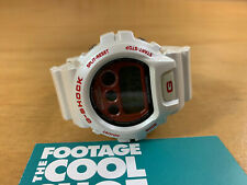 CASIO G-FACTORY JP G-SHOCK MEN'S DIGITAL WATCH DW-6900CM WHITE RED JAPAN