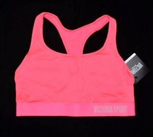 VICTORIA'S SECRET Sport Sports Bra Large L NEW Active Gym Yoga VS Pink Color