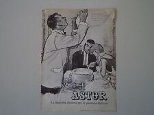 advertising Pubblicità 1961 SIGARETTE CIGARETTES ASTOR