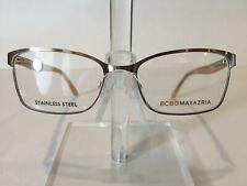 BCBG Maxazria Lola Women's Metal Eyeglass Frame -Sand 52-17 NEW!