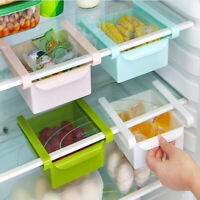 2x Fridge Box Can Holder Kitchen Shelf Organiser Cupboard Holder Storage Basket