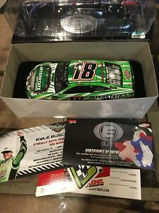 2018 1/24 KYLE BUSCH INTERSTATE BATTERIES TEXAS RACED WIN ELITE DIN 48 Of 164