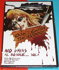 NO VAYAS AL BOSQUE... SOLA / DON´T GO IN THE WOODS... ALONE! - DVD R2 Precintada