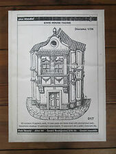 Plus Model 1:35 CIVIC House Facing 017 Modellbausatz