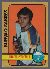 1972-73 OPC O PEE CHEE #136 GILBERT PERREAULT VG-EX BUFFALO SABRES HOCKEY CARD