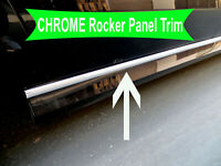 2003-2018 Dodge Chrome SIDE ROCKER PANEL Trim Molding Kit 2PC